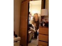 Ikea vikedal mirror door for 201cm x 50cm height pax wardrobe