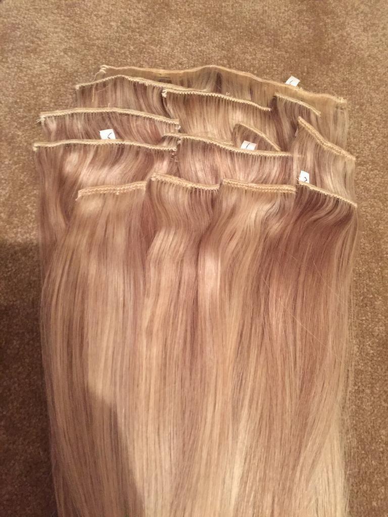 Headkandy Hair Extensions Milk I Blush 16 18 Second Base Never