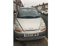 Chevrolet Matiz 2007 with 12 months low mileage