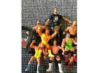 Wrestling action figures