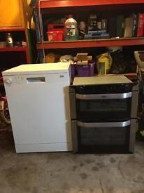 Dishwasher & cooker