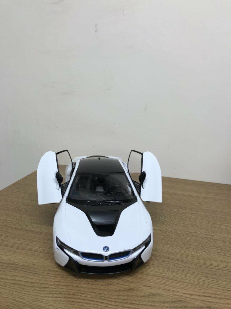 Bmw I8 Remote Control Kids Car Toy Opening Doors Working Lights In