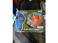 Train water play centre