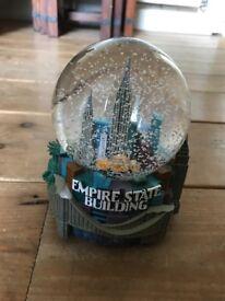 New York City Snow Globe