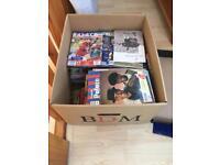 Box of Crystal Palace Programmes from circa 2000