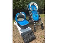 Uppababy Vista Pushchair & Carrycot + Accessories