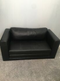 Black Double Ikea Sofa Bed Used twice