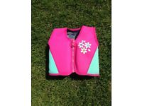Mothercare Pink swimming vest aid age 4-5