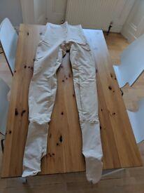 Nude Wet-suit Leggings