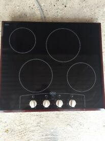 Belling electric glass hob