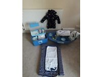 Mothercare Baby Bath/Box/Changing Set with Free Micky Mouse Robe. BS3 or BS23.