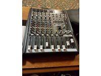Alto TS112A Speakers (Pair) & Mackie ProFX8 Mixer
