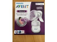 Phillips Avent manual breast pump unopened