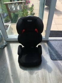 Child's booster seat for the car