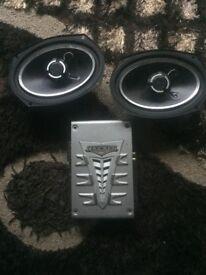 Vibe speakers 6x9 with kicker amp jl pioneer