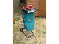 Bosch AXT Rapid 2200 Garden shredder.