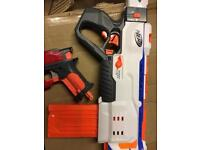 Job lot of items including nerf guns and accessories