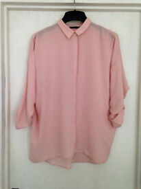 **BRAND NEW** Womens size 12 pink long sleeve top from Marks and Spencer