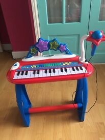Child's play piano
