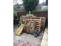 Pallets pick them up for free