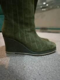 Luc berjen women boots size uk 3-3.5