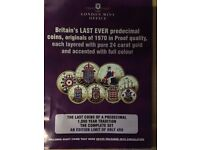 Predecimal coins 24Ct Gold Layered limited Edition 499