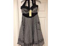 Brand new 1950's style dress