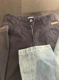 Boys jeans age 10 years- timberland and Levi's