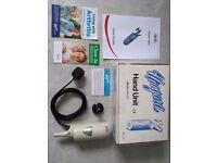Niagara Hand Held Massage Unit HU75 with accessories.