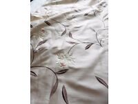 Pair Curtains, double width length 60 inches