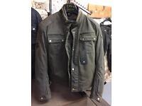 Motorcycle wax jacket brand new merlin