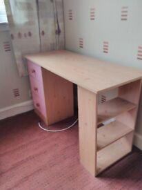 Dressing table / desk for girls room