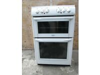 Belling Enfield E552 55cm Freestanding Electric Cooker White used tested