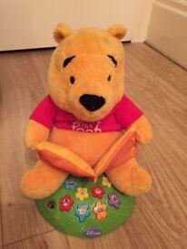 Talking/singing pooh bear