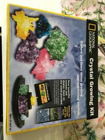 National Geographic Crystal Growing Set - Brand new in wrapper