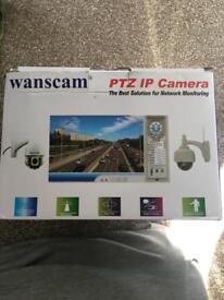 Wanscam ptz ip camera security system