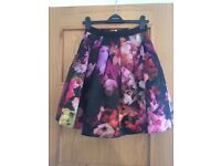 Ted Baker floral skirt