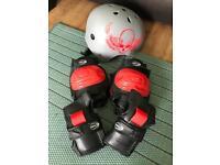 Children's Helmet and Elbow/Knee Pads