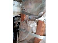 Hardwood window frames - brand new
