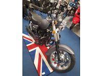 Brand new Motorini Bomber 125 cruiser learner legal motorbike. 125 Commuter Finance option available