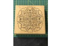 BN Christmas Rubber Stamps