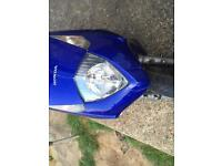Honda dylan 125cc last day