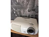 "Optoma full hd 1080p dlp projector + 96"" electric screen"