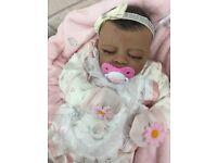Gorgeous bi racial baby girl BRAND NEW