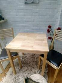 Chairsand table