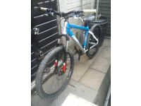 "giant xtc 4 hard tail mountain bike 26"" wheels rock shox forks continental tyres"