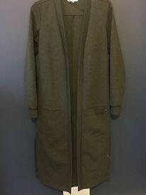 Xs grey long cardigan