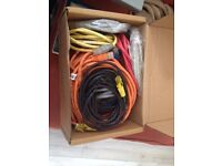 Various Ethernet cables (25m in total)