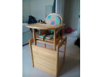 High / Low Chair - wood