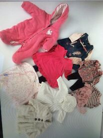 Baby girls clothing age 3-6 months
